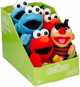 Mjukisfigur -Sesame Street