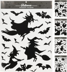 Fönsterstickers -Halloweeen