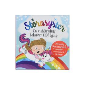 Storasyster barnbok -Enhörning