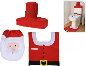 Juldekoration till toalettstolen
