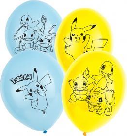 Ballonger i 6-pack -Pokémon