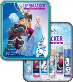 Lip Smacker 6-pack med plåtetui -Frozen