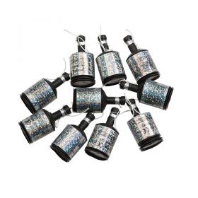 Partypoppers silver 8-pack