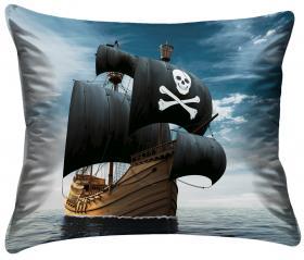 Örngott -Piratskepp