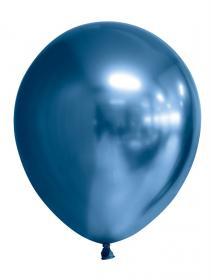 Spegelballonger i 6-pack (Blå)