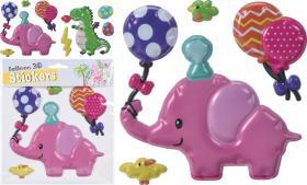 Stickers ballong/figurer