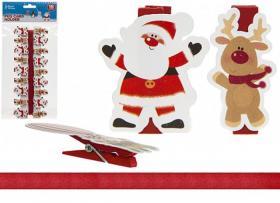 Korthållare med jultema