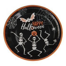 Papperstallrikar i 8-pack -Halloween