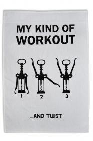 Kökshandduk - Workout