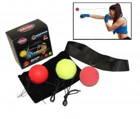 Boxningsboll med pannband