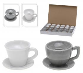 Ljusstake -kaffekopp