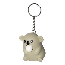 Nyckelring -Bubbelblåsande koala