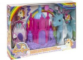 Lekset med häst och slott
