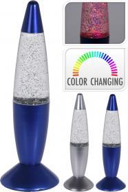 Glitterlampa LED