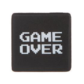 Kylskåpsmagnet -GAME OVER