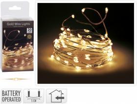 Guldslinga 20 LED -Extra varmt vitt sken