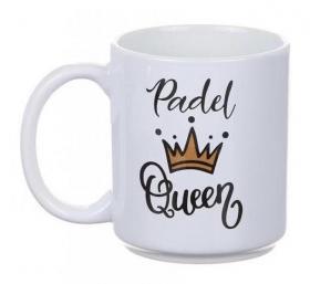 Porslinsmugg -Padel Queen
