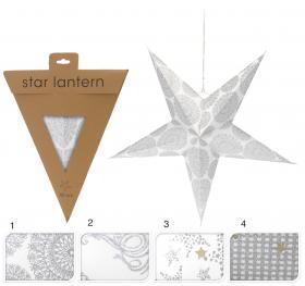 Pappersstjärna 60 cm