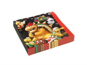 Servetter i 20-pack -SUPER MARIO