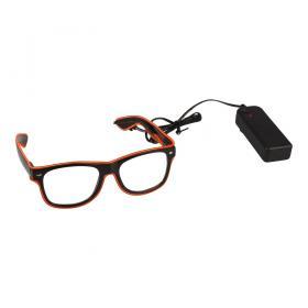 El-wire glasses