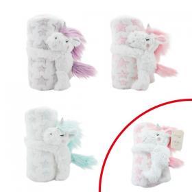 Barnfilt med Unicorn