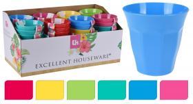 Färgglad plastmugg i 2-pack