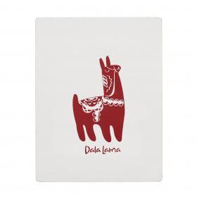 Trätavla -Dala Lama