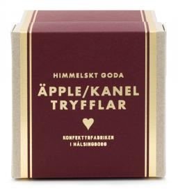 Äpple/kanel tryfflar i presentförpackning