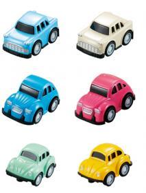Mini pull-back bil