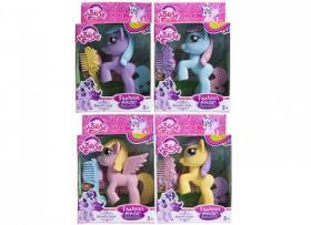 Ponny med hårborste