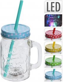 Drickmugg med LED