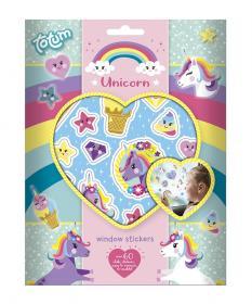 Fönsterstickers (Unicorn)
