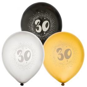 """Ballonger i 6-pack """"30"""""""