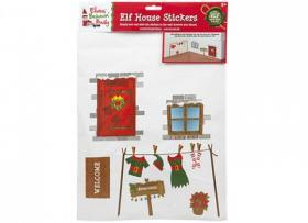 Stickers -Tomtenissens hus