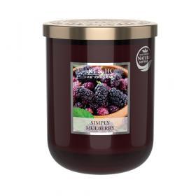 Doftljus Simply Mulberry (mullbär) 340 g