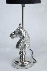 Lampfot -Häst (silver)