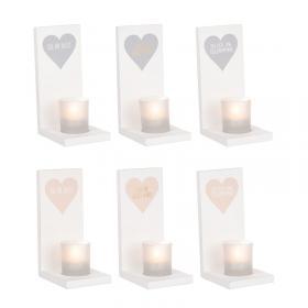 Ljushållare vägg - hjärta