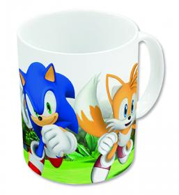 Porslinsmugg -Sonic