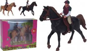 Lekset häst och ryttare