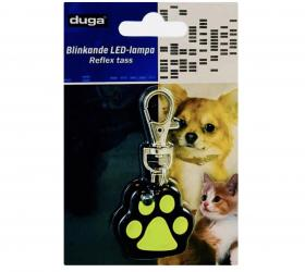 Blinkande LED-lampa -Hund