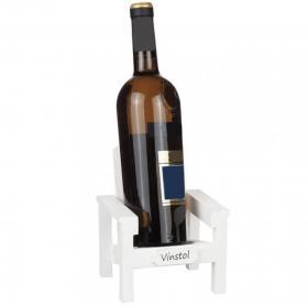 Stol till vinflaskan