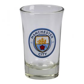 Shotglas i 2-pack -Manchester City