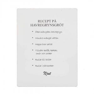 tavlor med recept