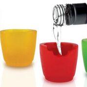 Ätbara shotglas i 4-pack