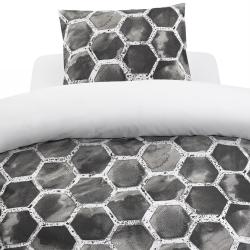 Bäddset Honung grå