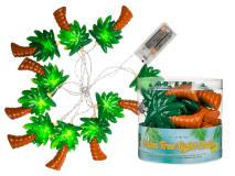 Batteridriven ljusslinga -palmer