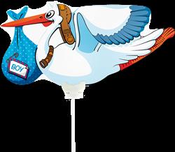 Ballong -Stork BOY
