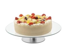 Roterande tårtfat Ø30cm