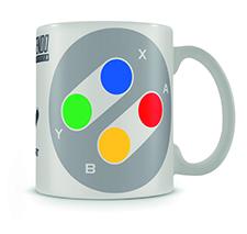 Porslinsmugg -Nintendo SNES kontroller