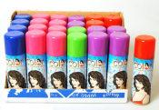 Färgat hårspray